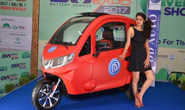India E-Vehicle Show & BVTECH Expo 2017 sees e-vehicle launches