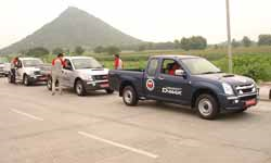 Isuzu flags off 3-day Max Run Challenge in India