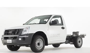 Isuzu introduces D-Max AC and cab-chassis variants