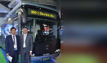 JBM & Solaris unveil India's first 100pc electric bus 'Ecolife'