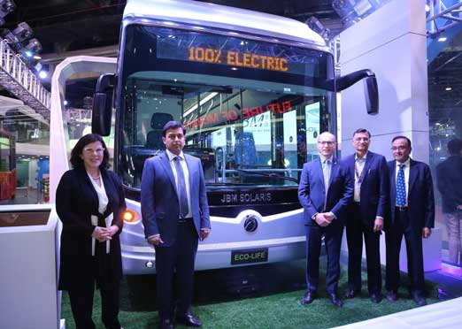 JBM Solaris launches its 100% Electric Bus series Eco-Life