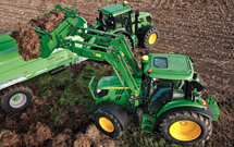 John Deere 6M Series tractors with more power