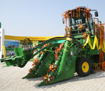 John Deere India rolls out sugarcane harvester