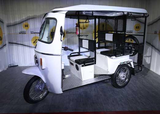 Lohia Auto launches Hi-Speed Electric Three-wheeler