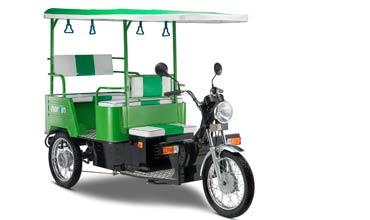Lohia Auto unveils Narain e-rickshaw
