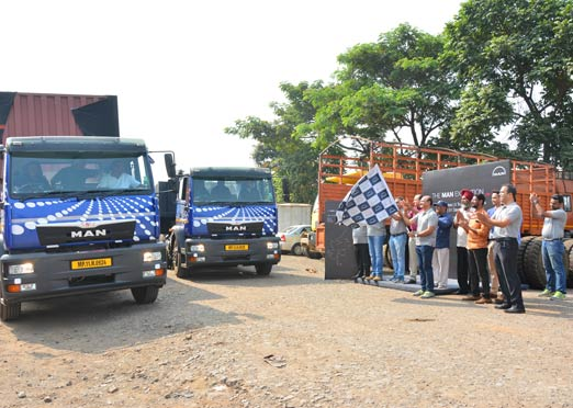 MAN flags off pan-India drive for greater visibility for haulage vehicles