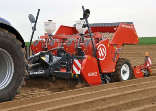 Mahindra collaborates with Dewulf Group for potato planting equipment