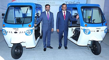 Mahindra launches electric 3 wheeler range Treo and Treo Yaari
