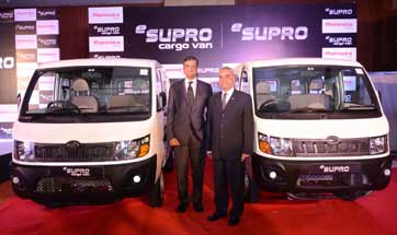 Mahindra launches eSupro - all electric cargo and passenger van for Rs. 8.45 lakh