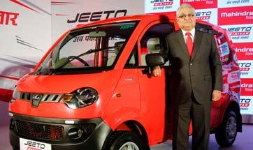 Mahindra launches new Jeeto Minivan for Rs. 3.45 lakh