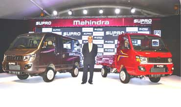 Mahindra rolls out two new vehicles on all new Supro platform