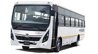 Mahindra unveils Cruzio, an all-new range of buses based on ICV platform
