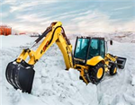 New Holland's backhoe is a handy machine