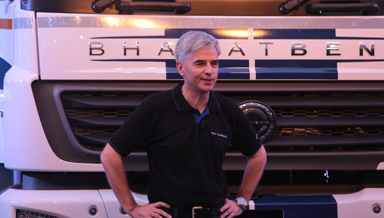 New range of BharatBenz heavy duty trucks premiered