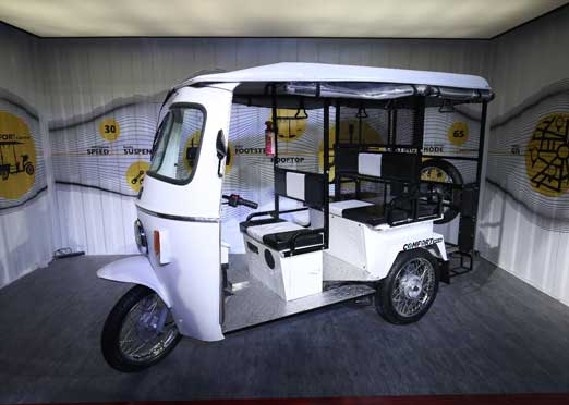 Ola  to put 10,000 e-auto rickshaws on Indian roads in 12 months