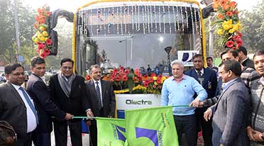 Olectra-BYD electric bus eBuzz K9 starts trial for Delhi Government