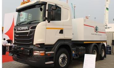 Scania R 580 Puller certified under Puller category by ARAI