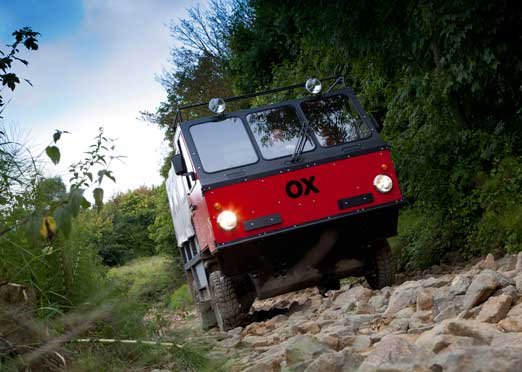Shell to bring flat-pack truck OX to India