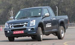 Smart Isuzu relies on Space Cab rather than Twin.