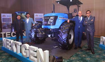 Sonalika ITL unveils first ever 120 HP (6 Cylinder) tractor in India
