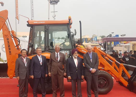 Tata Hitachi Shinrai all-new backhoe loader unveiled