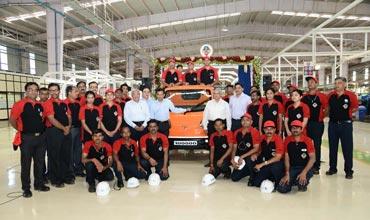 Tata Motors celebrates roll-out of 100,000th Tata Ace Zip