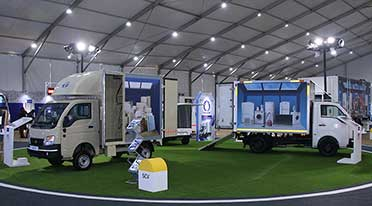 Tata Motors hosts experiential expo for E-commerce Industry in India
