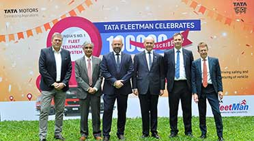 Tata Motors installs 1 lakh telematic systems on its M&H Commercial Vehicles