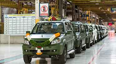 Tata Motors rolls out 1500th GS800 Safari Storme for Indian Army