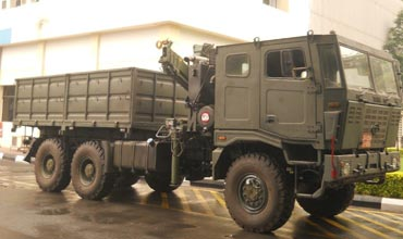 Tata gets a neat contract from Indian army for 6X6 vehicles