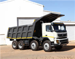 Volvo Trucks introduces FMX tipper