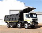 Volvo Trucks introduces FMX tipper