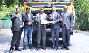 Volvo Trucks makes a record 10,000 truck deliveries in India