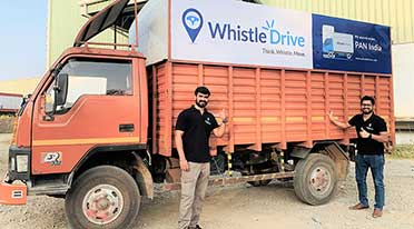 WhistleDrive enters urban logistics market with a 5000+ 'WhistleTruck' Fleet