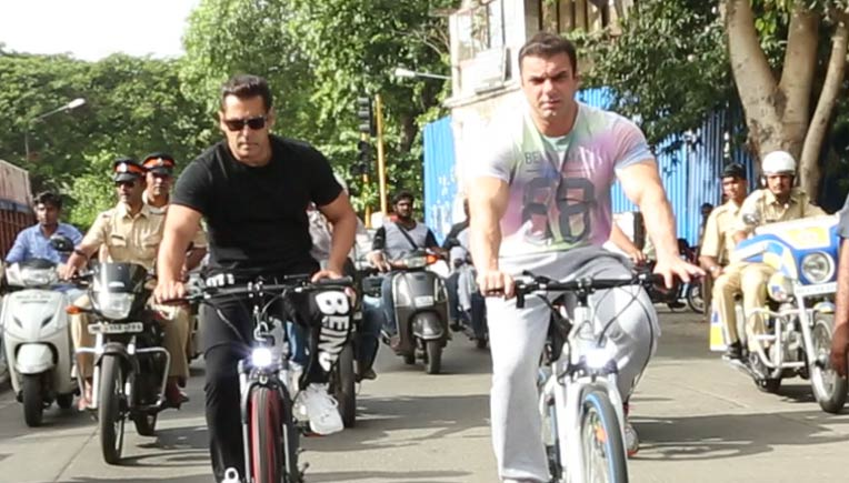 a10f84ac300 Salman Khan unveils Being Human E-Cycles for Rs 40,000 onward