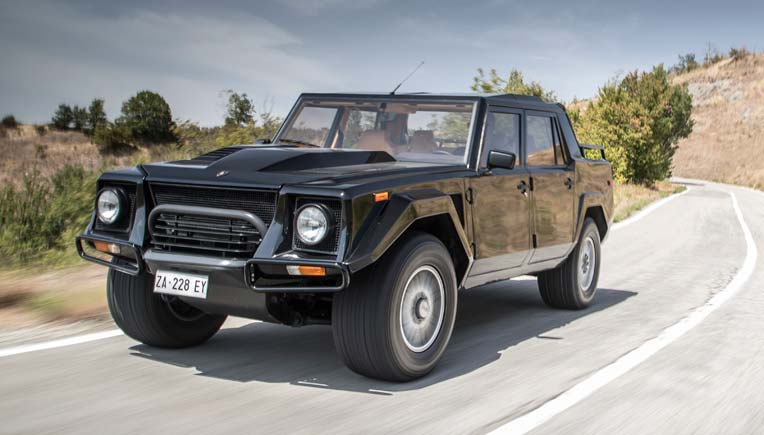 Lamborghini Goes Nostalgic With Its First Suv The Lm002