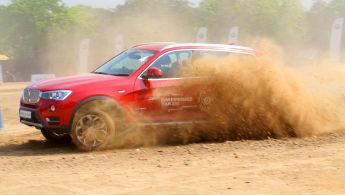 Bmw Reaches Gurgaon On Its Experience Tour Across India