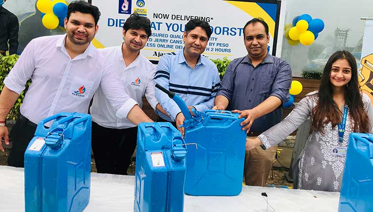 BPCL, Humsafar India to offer doorstep delivery of diesel in jerry cans in Delhi