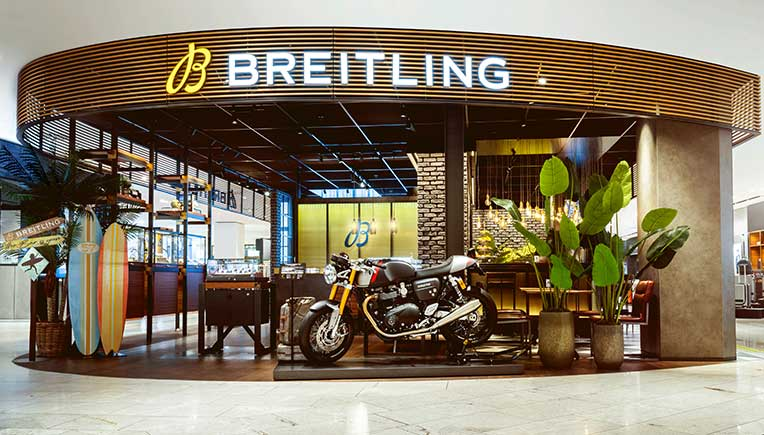 Breitling, Triumph Motorcycles in long term partnership