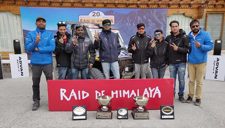 Double victory for Polaris India at 20th edition of Raid De Himalaya 2018