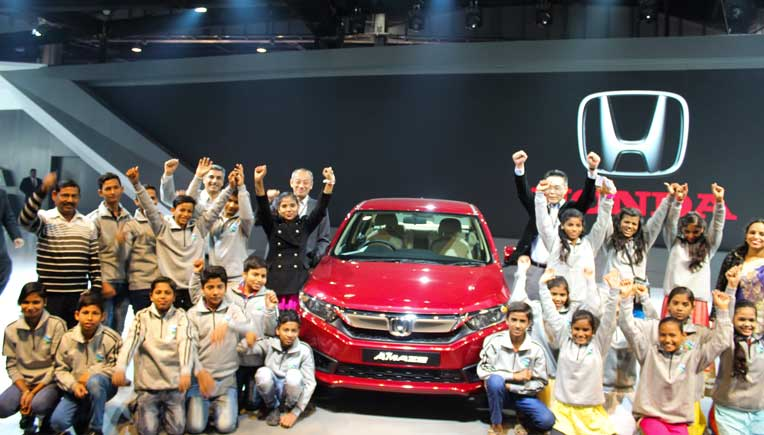 Honda Cars India delights children at Auto Expo 2018
