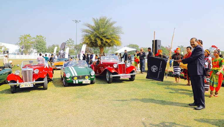 MG Motor India reconnects with its owners at 21 Gun Salute Rally
