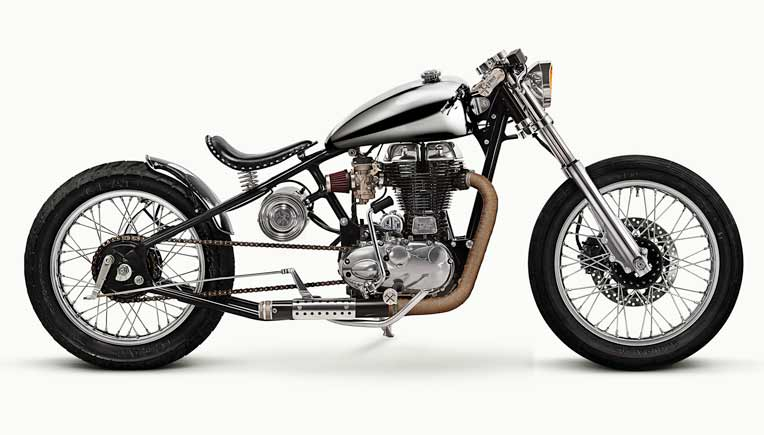 Royal Enfield collaborates with custom builders for motorcycles