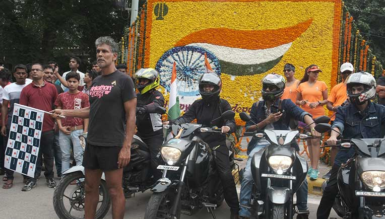 Suzuki Motorcycle India flags-off 4200 km Tri-Cultural Brotherhood Ride
