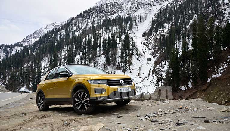 T-Roc-in the Mountains of Manali