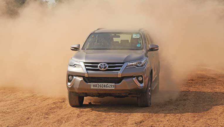 Toyota organises exclusive Fortuner Off road camp