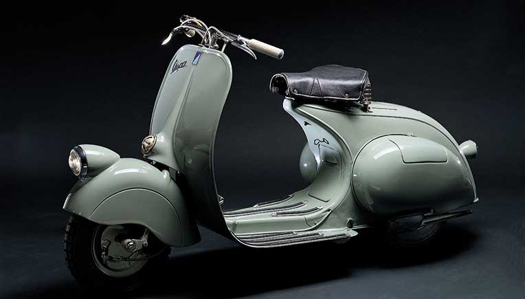 Vespa is 75; The wasp that charmed an international audience