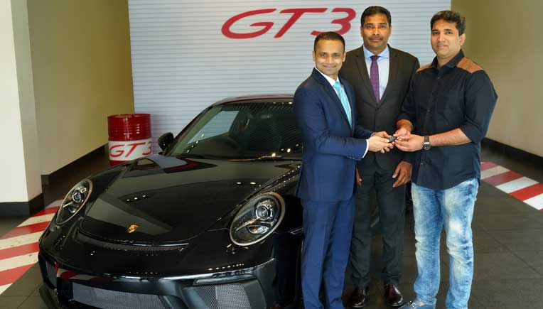 First Porsche 911 Gt3 Delivered To Customer In Kerala