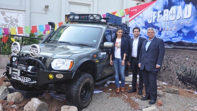 Gul Panag Mahindra Scorpio Getaway adventure on Discovery channel