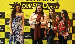 30 young women star in JK Tyre YFLO Power Drive